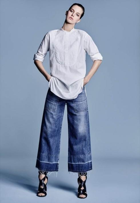 Quần dạng culotte thật sự không kén chiều cao như nhiều người vẫn nghĩ. Quan trọng là độ cao của lưng quần và cách phối trang phục đi kèm.