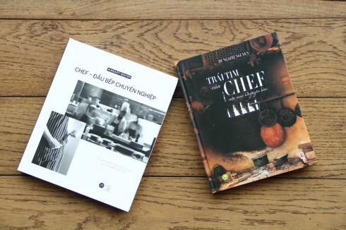 Hai cuốn sách đã xuất bản của tác giả Hungazit.