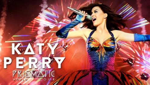 Một số hình ảnh trong Prismatic World Tour của Katy Perry