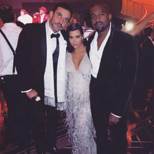 Riccardo Tisci, Kim và Kanye West