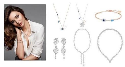 Những thiết kế trong bộ sưu tập trang sức được thiết kế bởi Miranda Kerr