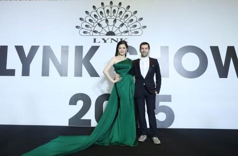 Ly Nha Ky và nhà thiết kế người Pháp tại Lynk Fashion Show 2015
