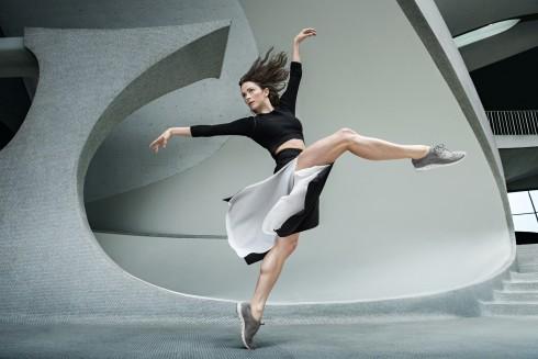 Hình quảng cáo bộ sưu tập Thu - Đông 2015 của Cole Haan với dòng giày ZeroGrand
