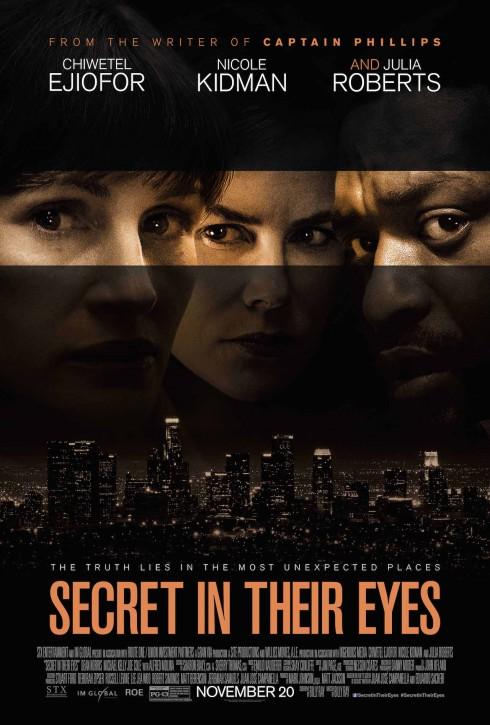 Poster bộ phim Secret in the eyes sẽ được công chiếu vào ngày 20/11 tới