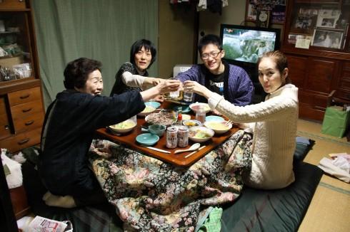 Kotatsu được như biểu tượng của sự sum họp gia đình.