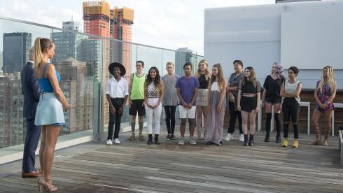 Các thí sinh nhí của Project Runway Junior mùa trước.