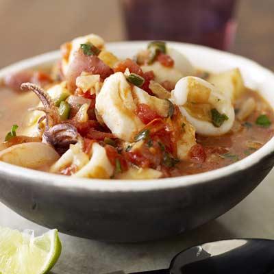 Súp hải sản là lựa chọn của người dân Tây Ban Nha