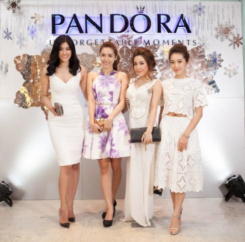 Sao Việt lộng lẫy trong trang phục màu trắng kiêu sa