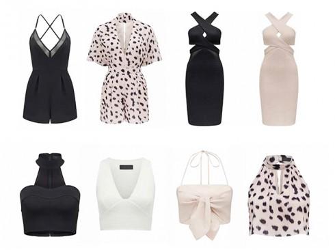 Một vài thiết kế trong bộ sưu tập Kendall+Kylie của Forever New. Những bộ trang phục sành điệu và sắc sảo của một cô gái thành thị nhưng không kém phần nữ tính