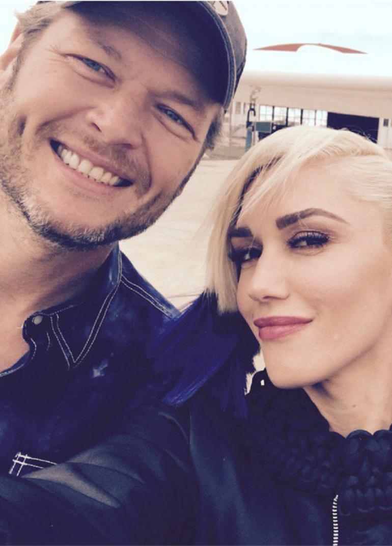 Gwen Stefani và Blake Shelton: tình yêu từ sự đồng cảm