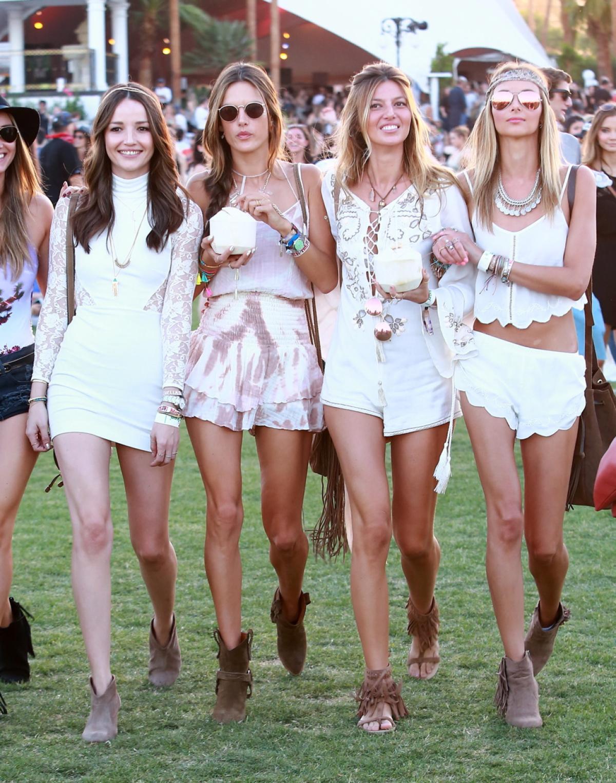 Phong cách bohemian của các sao tham gia Coachella 2015