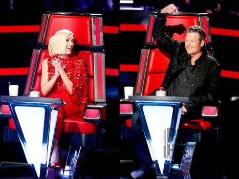 Gwen Stefani và Blake Shelton là cặp đôi giám khảo đang được chú ý trong The Voice US mùa 9