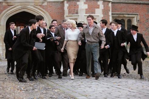 Marilyn có gu ăn mặc rất đơn giản, thoải mái.
