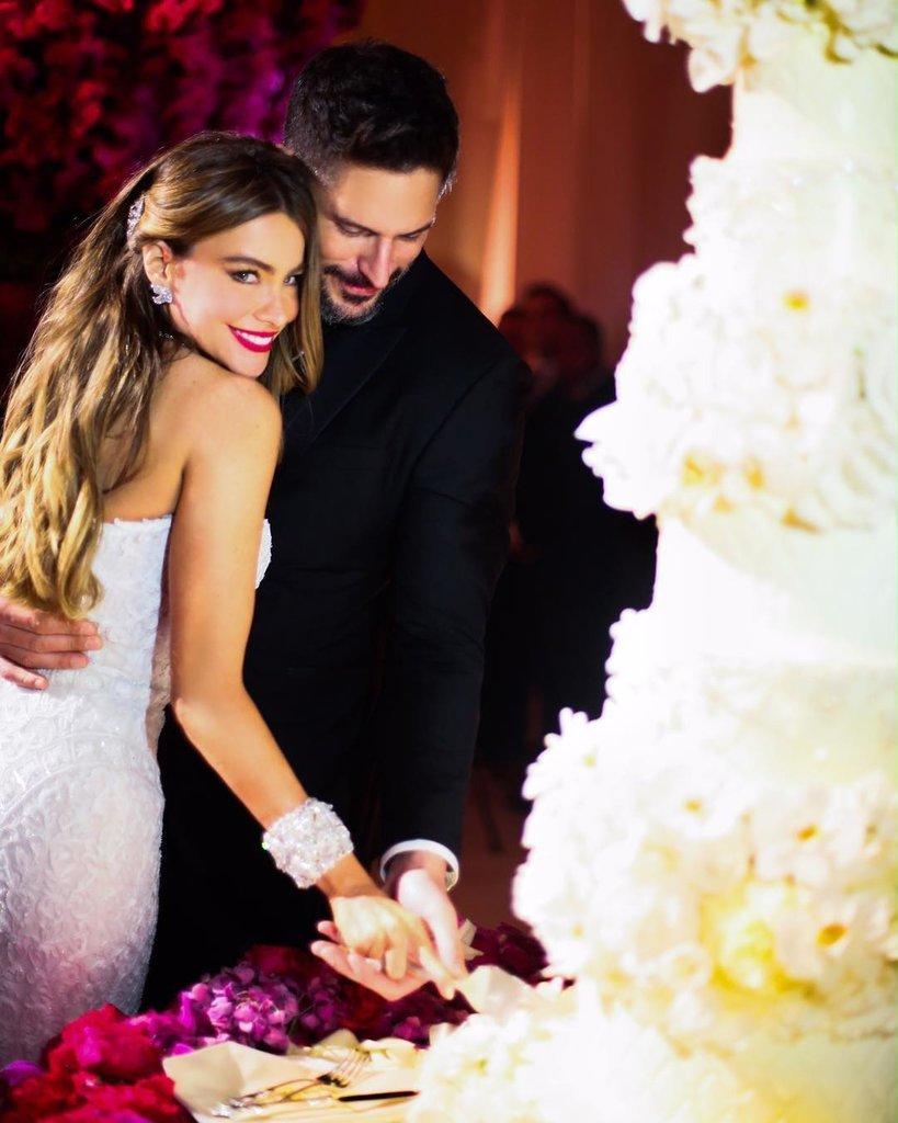 Đám cưới hạnh phúc của Sofia Vergara và Joe Manganiello