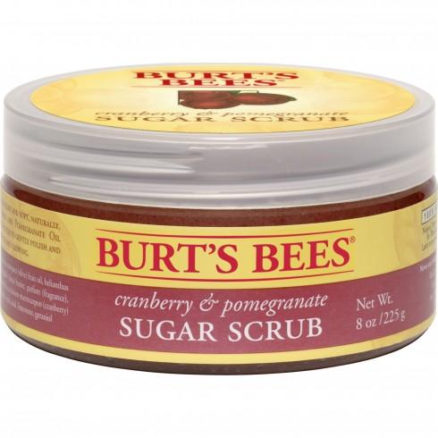 Burt's Bees Sugar Scrub In Cranberry and Pomegranate
