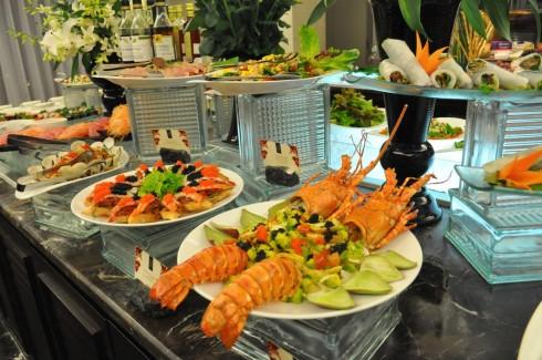 tiệc tự chọn đón năm mới sẽ mang đến cho quý khách rất nhiều sự lựa chọn