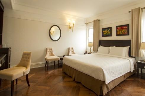 Một phòng khách sạn Silk Path Hanoi
