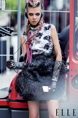 Bộ ảnh thời trang Rebel Couture
