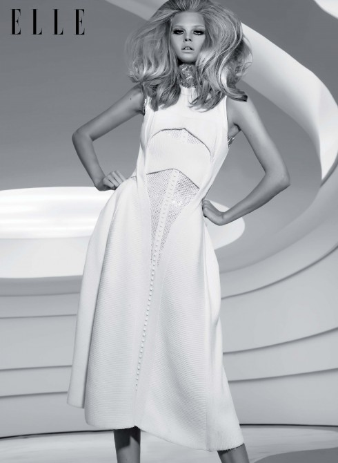 Áo sequin và đầm Dior
