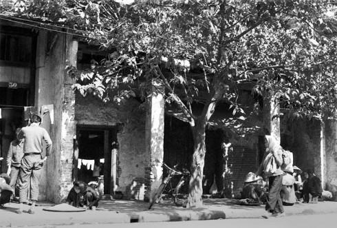 Đình Kim Ngân - Phố hàng Bạc năm 1980