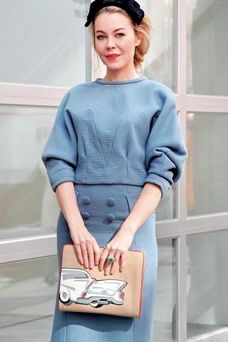 Streetstyle của fashionista nổi tiếng Ulyana Sergeenko