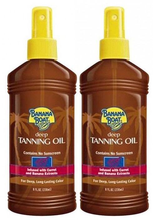 Banana Boat Deep Tanning Oil Spray