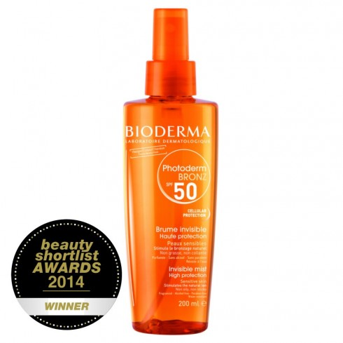 Bioderma Photoderm Bronze Invisible Sun Mist SPF30