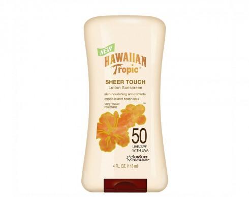 Hawaiian Tropic Sheer Touch Ultra Radiance Lotion Sunscreen