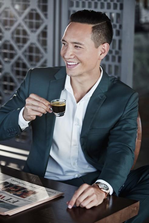 """""""Giản tiện, tinh tế và chất lượng là những yếu tố tôi luôn tìm kiếm ở một tách cà phê hoàn hảo."""""""