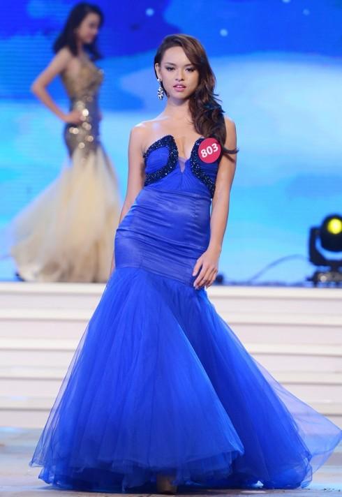 Người mẫu Quỳnh Mai đã lọt vào top 45 trong cuộc thi Hoa Hậu Hoàn Vũ năm 2015