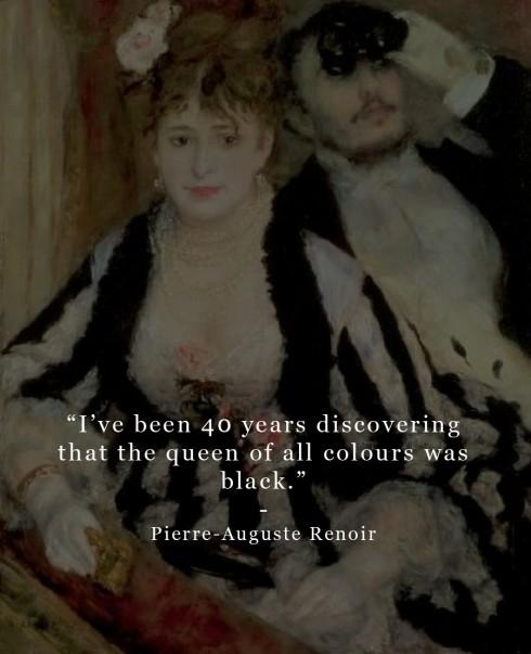 Câu nói hay của Pierre-Auguste Renoir.