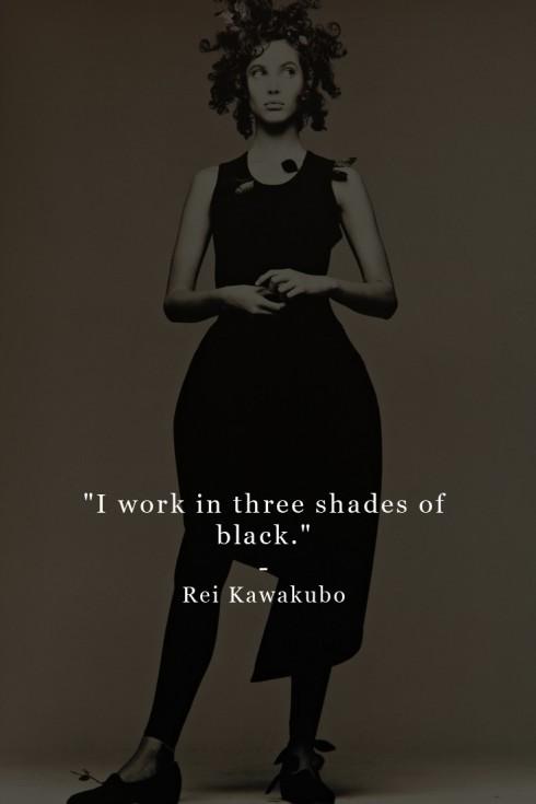 Câu nói hay của Rei Kawakubo.