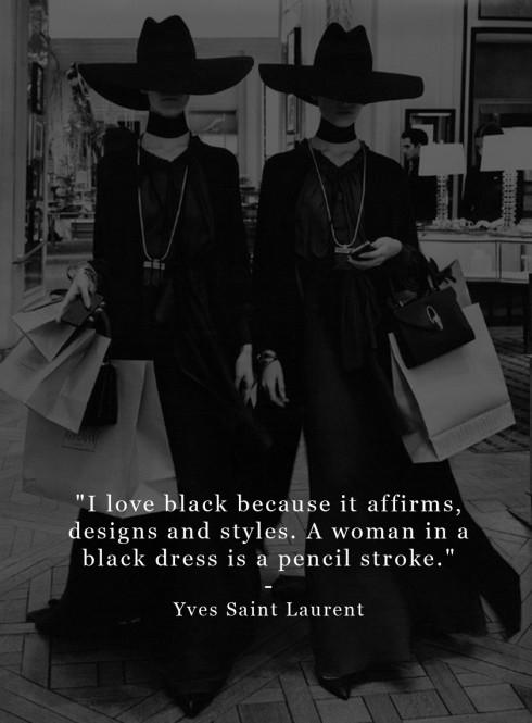 Câu nói hay của Yves Saint Laurent.