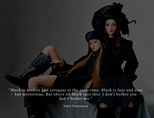 Câu nói hay của Yohji Yamamoto.
