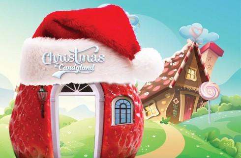 Giáng sinh ấm áp tại xứ sở kẹo ngọt sẽ là một bất  ngờ dành cho trẻ nhỏ.