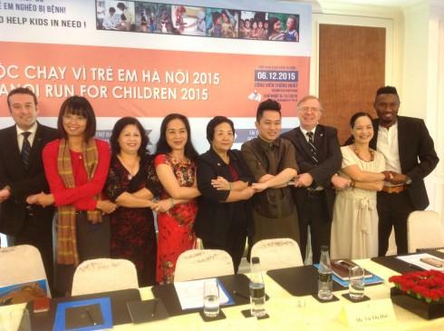 HRC 2015 tiếp tục nhận được sự đồng hành của NSND Lê Khanh, Ca sỹ Tùng Dương và Ca sỹ Thái Thùy Linh,  cầu thủ bóng đá nổi tiếng Hoàng Vũ Samson - Đội Hà Nội T&T.