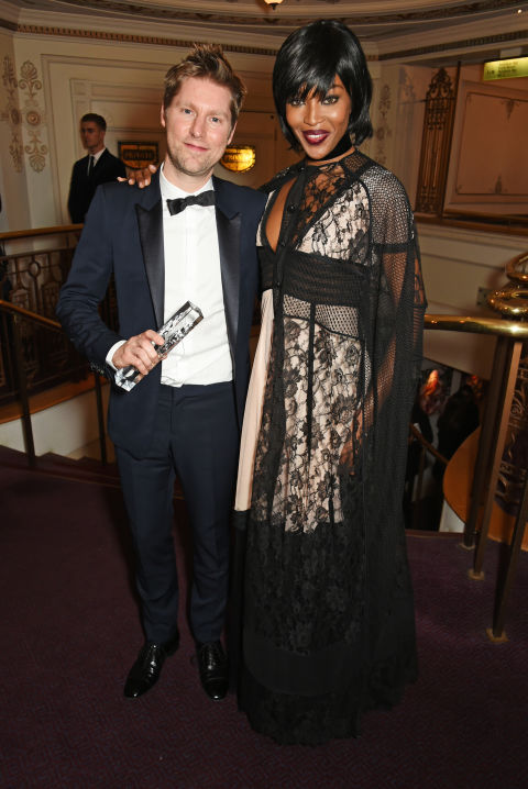 Christopher Bailey & Naomi Campbell - Burberry