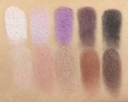 Các sắc màu trong Stila In The Moment Eyeshadow Palette
