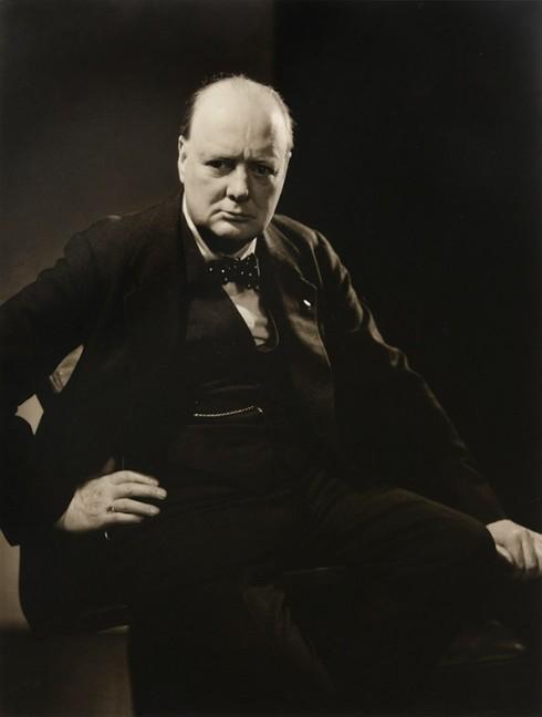Winston Churchill chụp cho tạp chí Vanity Fair - Nhiếp ảnh gia Edward Steichen (1932)