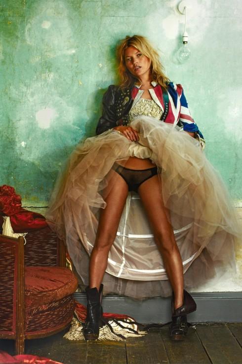 Kate Moss - Nhiếp ảnh gia Mario Testino (2008)