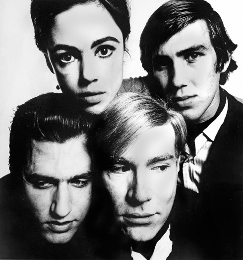 Andy Warhol and the Gang - Nhiếp ảnh gia David Bailey (1965)