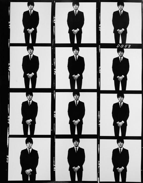 Paul McCartney - Nhiếp ảnh gia David Bailey (1968)