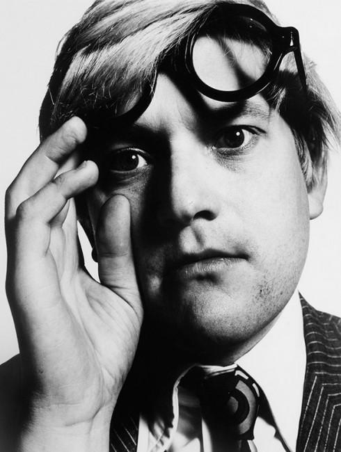 David Hockney - Nhiếp ảnh gia David Bailey (1965)