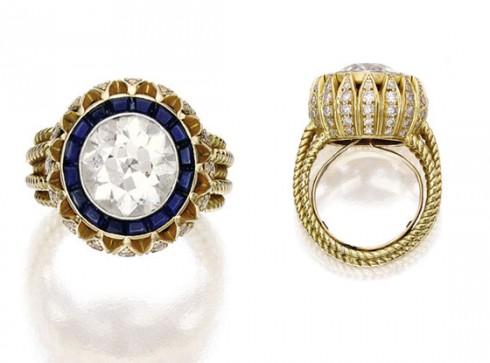 Chân dung chiếc nhẫn cầu hôn của Oliver Sarkozy dành cho Mary-Kate Olsen