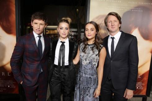 Đạo diễn và hai diễn viên chính trong phim.