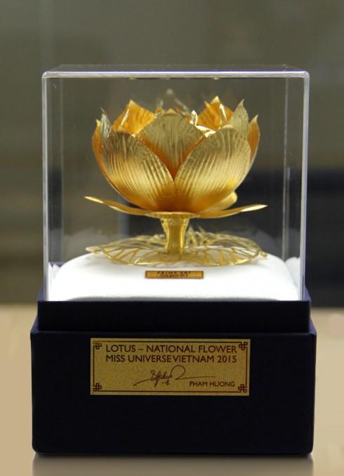 Sen Vàng - Vật phẩm dự đấu giá tại HHHV Thế giới 2015