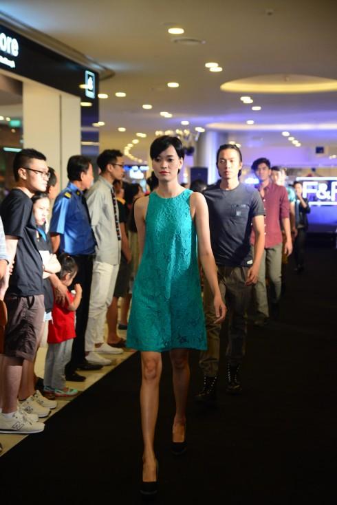 Thời trang Anh Quốc F&F đã có mặt tại Vivo City