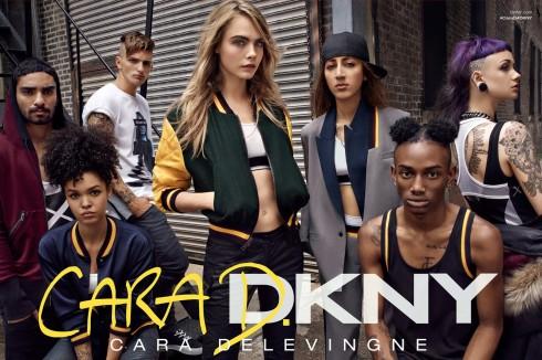 Bộ sưu tập DKNY x Cara