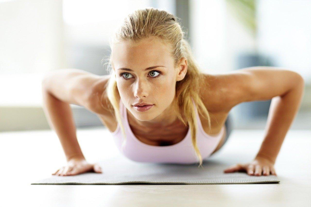 Các bài tập tay cho nữ giúp có thân hình cân đối