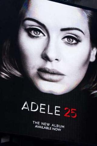 Album 25 của nữ ca sĩ Adele xô đổ mọi kỷ lục